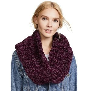Free People Love Bug Chenille Infinity Scarf